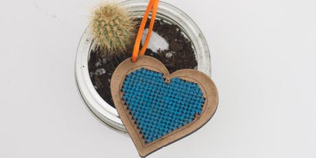 Cross Stitch Heart Workshop tickets