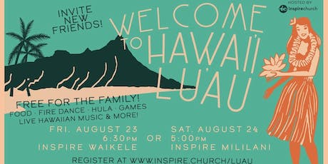 Welcome Home Luau tickets