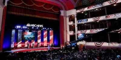 5th Democratic Presidential Debate Watch, Nov 20 at Round Table Menlo Park