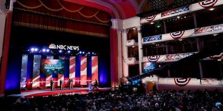 3rd Democratic Presidential Debate Watch Event, Sept. 12 at Round Table Menlo Park tickets