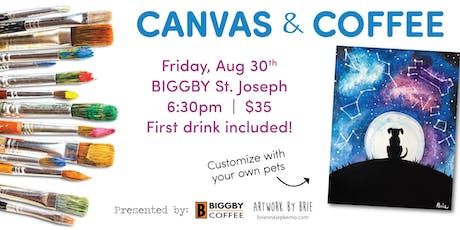 Canvas & Coffee - Stargazer tickets