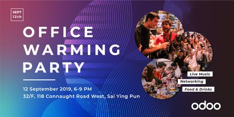 Odoo APAC Office Warming Party tickets