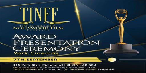 TINFF2019 AWARD PRESENTATION CEREMONY:(A RED CARPET EVENT)
