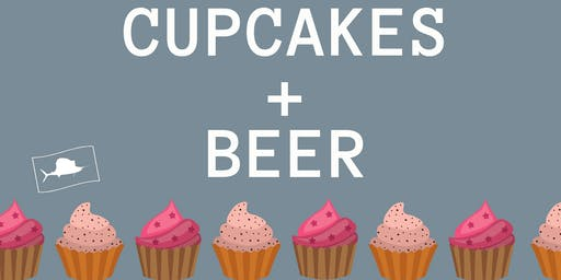 Cupcake + Beer Pairing at Sailfish Brewing Co with The Cake Lady