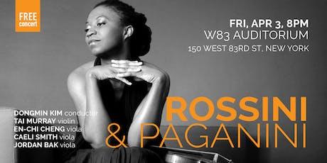 ROSSINI & PAGANINI(NYC) tickets