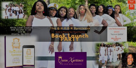 The Q.U.E.E.N Xperience Book Launch Party tickets