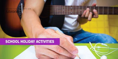 Lyric Writing (11-17 years) - Caboolture Library