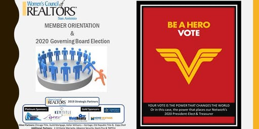 Elections & New Member Orientation