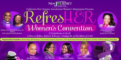 RefresHER Women's Convention tickets