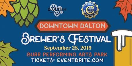 Civitan Downtown Dalton Brewers Festival tickets