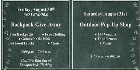 Popup shop (Outdoor) tickets