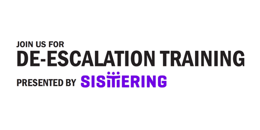 De-escalation Training with Sistering