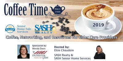 Copy of Copy of Coffee Time Networking On the Eastside - September 12, 2019