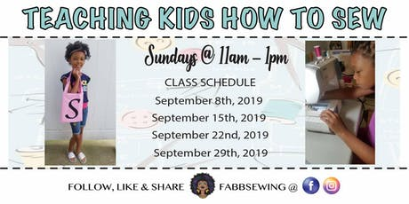SEWING CLASS FOR KIDS tickets