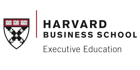 Harvard Business School Executive Education Reception at HBS Global PLD Summit 2019 tickets