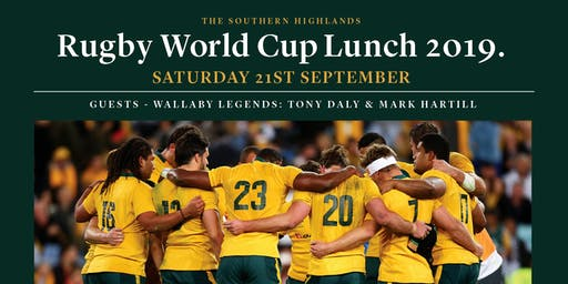 Rugby World Cup and Craft Beer Lunch