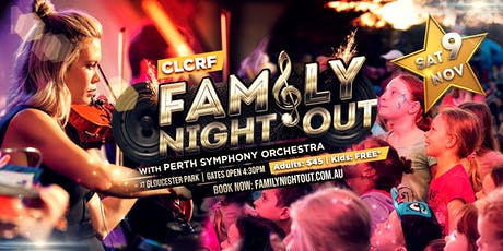 CLCRF Family Night Out 2019 tickets