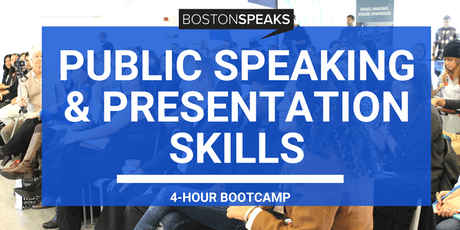 Public Speaking and Presentation Skills | 4-Hour Bootcamp tickets