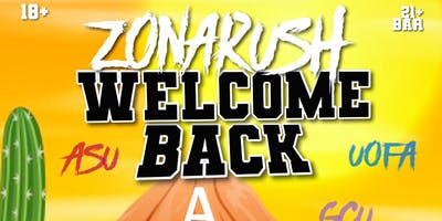 Zonarush Welcome Back Pool Party