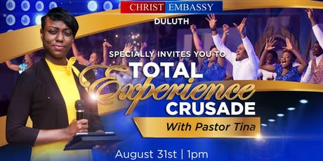 TOTAL EXPERIENCE CRUSADE tickets