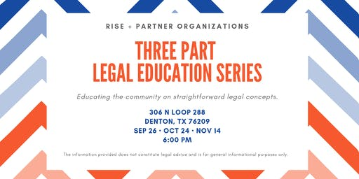 Community Legal Education Series