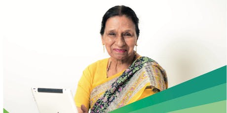HINDI Tech Savvy Seniors - 4 lessons tickets
