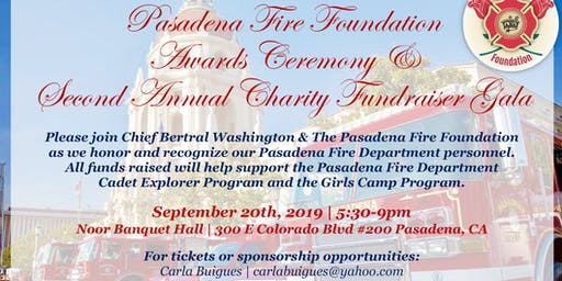 Pasadena Fire Foundation Awards & Gala Fundraiser