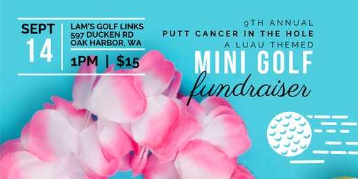 Putt Cancer in the Hole | A Mini Golf Fundraiser