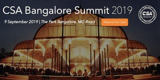 CSA Bangalore Summit 2019