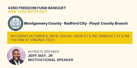 44th Freedom Fund Banquet  tickets