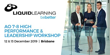 AO 7-8 High Performance & Leadership Workshop tickets