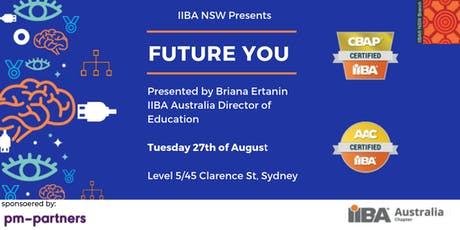 Future You – IIBA education for 21st century tickets