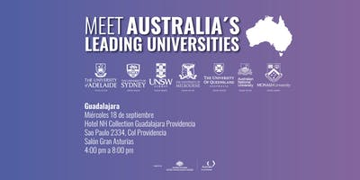 Meet Australia's Leading Universities in Guadalajara 2019