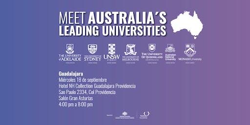 Meet Australia's Leading Universities in Guadalajara 2019