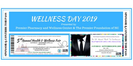 5th Annual Wellness Day Sponsorship and Contributions  tickets
