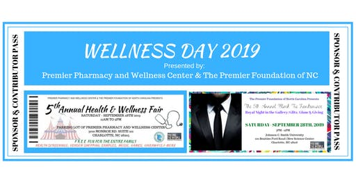 5th Annual Wellness Day Sponsorship and Contributions