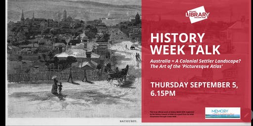 History Week Talk @ Bathurst Library