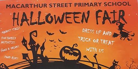 Macarthur St PS Halloween Fair tickets