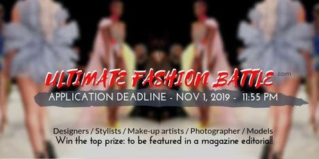 Designer / Stylist / Make-up artist / Photographer competition / Ultimate Fashion Battle tickets