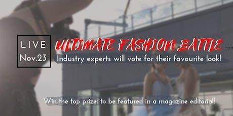 Ultimate Fashion Battle 2019 tickets