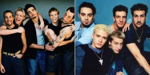 BACKSTREET BOYS, N*SYNC & NKOTB - A VERY CHEESY DJ TRIBUTE TO THE BOY BANDS