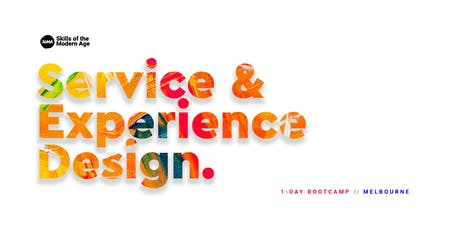 Service & Experience Design: Melbourne Bootcamp tickets