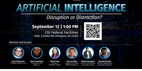 ARTIFICIAL INTELLIGENCE FORUM: DISRUPTION OR DISTRACTION tickets