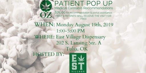 East Village Dispensary 1-5 pm Tulsa Aug 19
