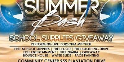 1st Annual Summer Bash...Back2School