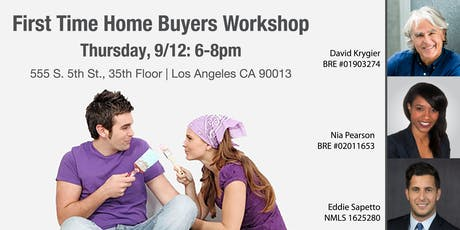 FREE First Time Home Buyer Workshop tickets