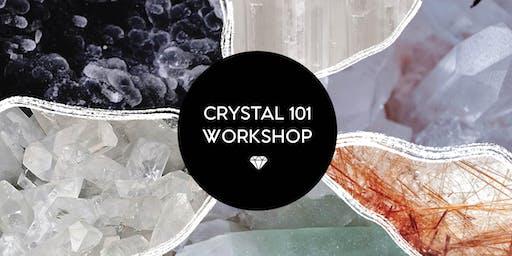 CRYSTAL 101 WORKSHOP