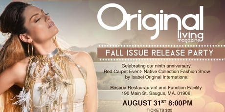 Original Living Magazine Fall Issue Release Party tickets