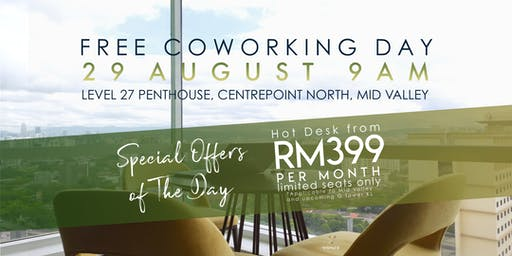 WSPACE Free Coworking Day on 29 August 2019