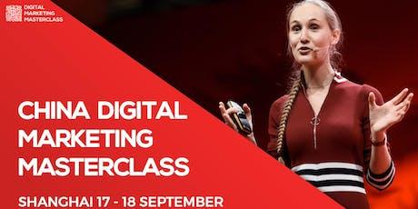 2-Day China Digital Marketing Masterclass @Shanghai tickets